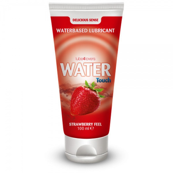 Water Touch Strawberry Water-Based Lubricant 100ml