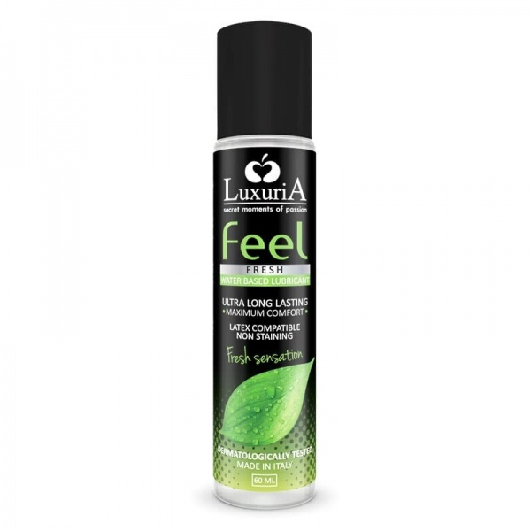 Luxuria Feel Fresh Sensation Lubricant 60ml