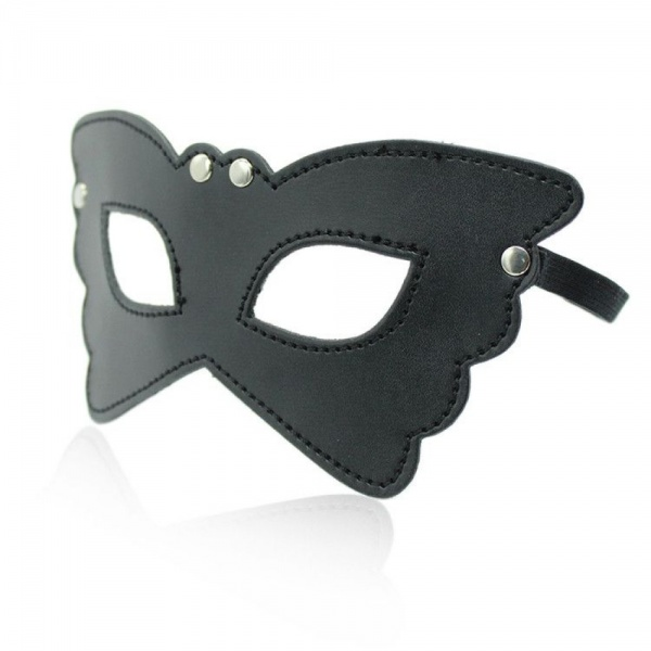 Black Butterfly Bondage Mask